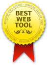 Best Web Tool of 2012 Award - Web Hosting Search